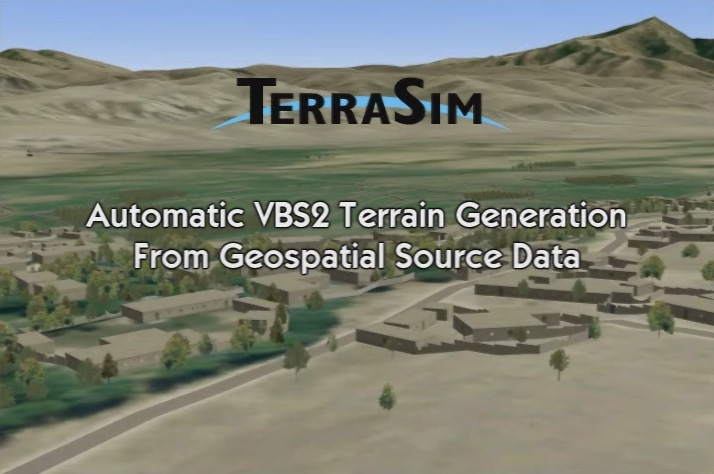Automatic terrain generation in VBS2